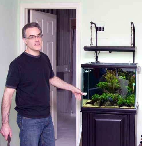 Mike and his 38 Gallon